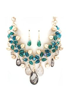 Crystal Dakota Necklace | Awesome Selection of Chic Fashion Jewelry | Emma Stine Limited