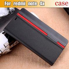 Xiaomi Redmi Note 4X Case Flip PU Leather Luxury Fashion Stand Cover Case For Xiaomi Redmi Note 4X Pro With Phone Holder #Affiliate