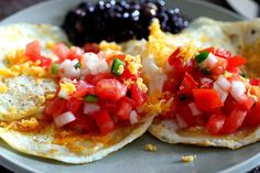 Love good Mexican food and eggs are super filling for breakfast + the salsa spikes your metabolism!