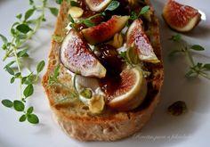 Aproveite os últimos figos do ano para fazer uma entrada de sabor marcadamente mediterrânico