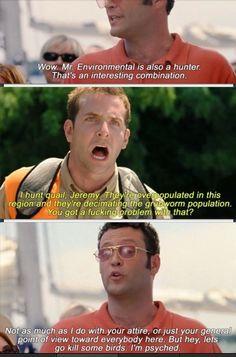 Wedding crashers favorite movie. Favorite quote!