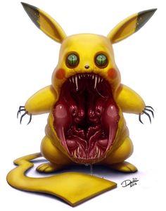 Quero ver quem vai querer pegar este Pikachu