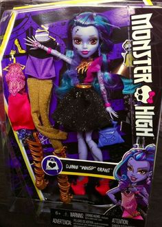 "2016 Monster High Djinni ""WHISP"" Grant Doll 12 in. I Love Fashion **IN HAND!** #Mattel #DollswithClothingAccessories"