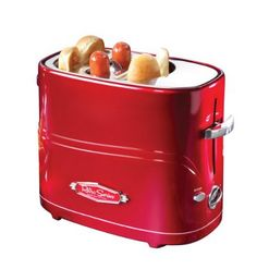 Nostalgia Electrics Retro Series Pop-Up Hot Dog Toaster $14.82 - http://slickhousewives.com/nostalgia-electrics-retro-series-pop-hot-dog-toaster-14-82/ -   I have never seen or heard of a Hot Dog Toaster until now!! This is so cool!!! I love that you can do this instead of using the microwave! You can get this Hot Dog Toaster on sale right now for $14.82! More about the Hot Dog Toaster: The Nostalgia Electrics Hot Dog Toaster is a fast, fun a ...