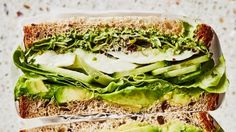 Green Goddess Crunch Sandwich Recipe | Bon Appetit