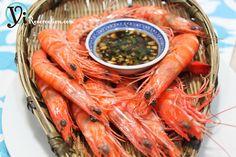 Cantonese Classic - White Boiled Shrimp (白灼蝦) | Yi Reservation