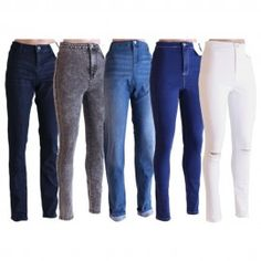 Women Jeans Pants Jeans Trousers Stretchable Skiny Look