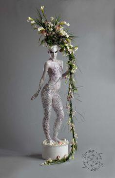 The Human Vase - by Alison Franchi & Jennifer Aspinall