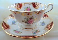 Sale ROYAL ALBERT EMPRESS Series  Catherine. by PrettyVintageHome