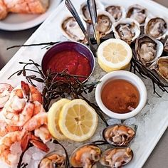 Delicious Gulf Coast seafood!