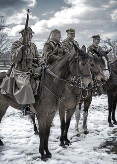 Polish cavalry. NPA https://de.pinterest.com/jeromeabubakr/panache-polonais/
