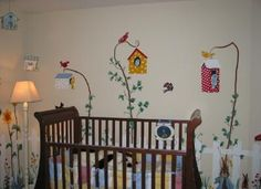Peter Rabbit Nursery Murals
