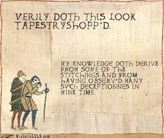 What modern-day Bayeux Tapestry equivalent might look like Bayeux Tapestry, Medieval Tapestry, History Memes, Art History, Funny History, Medieval Memes, Medieval Reactions, Medieval Embroidery, Like A Sir