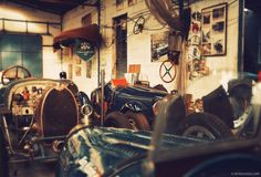 http://petrolicious.com/french-bugatti-workshop-saw-three-generations-of-owners