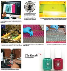 How'd They Do That? Imprinted Nail Polish Bottles : ASICentral Team Blog