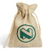 Gift Bag ex vat - hessian natural eco mini gift bag Hessian, Burlap, Mini Gift Bags, String Bag, Pretty Packaging, Online Gifts, Corporate Gifts, Event Decor, Twine