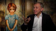 Christoph Waltz neither shaken nor stirred to talk James Bond during 'Big Eyes' press day