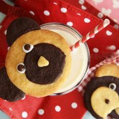 30 recettes de goûters pour la récré Brownies Oreo, Teddy Bear Cookies, Teddy Bears, Cake Tutorial, Cookies Et Biscuits, Kid Friendly Meals, Macarons, Sweet Recipes, Pastries