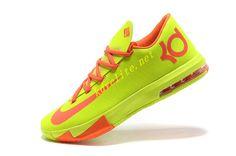Yellow Nike KD 6 Orange 554988 003
