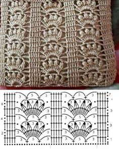 Crochet Diagram, Crochet Patterns, Pouch Pattern, Diy Headband, Knitting Stitches, Hobbies And Crafts, Sewing Tutorials, Purses And Bags, Elsa