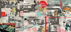 """® Nat Soontornvinate   """"Thaitown"""", experimental graphics"""