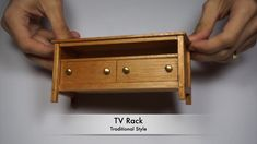 TV assembly made easyTV assembly made easyModern TV stand for a living roomDiscover a wide range of TV stands, devices and cabinets to organize your home entertainment and improve the viewing experience.How to mount a Diy Furniture Tv Stand, Diy Furniture Videos, Diy Barbie Furniture, Barbie Furniture Tutorial, Dollhouse Miniature Tutorials, Miniature Crafts, Diy Dollhouse, Dollhouse Miniatures, Barbie Dolls Diy