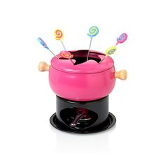 Bernardo Fondü Seti / Fondue Set #bernardo #cooking #chocolate #cikolata #pink #pembe