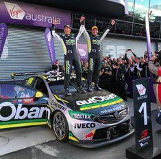 Craig Lowndes & Stephen Richards 2018 Bathurst Winners On ya boys Australian V8 Supercars, Holden Australia, Aussie Muscle Cars, Road Racing, Car Car, Touring, Race Cars, Super Cars, Bike