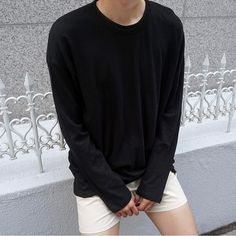 Maybe a longer pants korean fashion men, stylish mens fashion, korea Korean Fashion Minimal, Korean Fashion Men, Stylish Mens Fashion, Minimalist Fashion, Minimalist Wardrobe, Teenage Boy Fashion, Teenage Guys, Toddler Boy Outfits, Kids Outfits