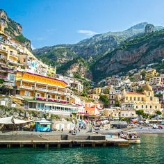 Positano on the Amalfi Coast. Endlessly picturesque. Photo courtesy of brianthio on Instagram.