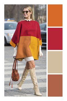Colour Combinations Fashion, Color Combinations For Clothes, Color Blocking Outfits, Fashion Colours, Colorful Fashion, Color Combos, Color Matching Clothes, Iranian Women Fashion, Fashion Capsule