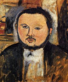 Amedeo Modigliani - Portrait of Diego Rivera #modigliani #paintings #art