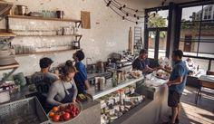 FINKS delicatessen/cafe/wine/cheese//bar/restaurant StokeNewington, London