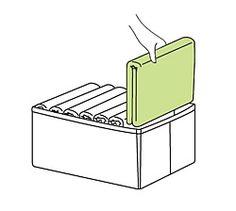 Mogu ovako, oko nekog kartona koji izrezem, da slozim salove npr. i onda ih naslazem u kutiju koju ukrasim i stavim uspravno da stoji i da se sve lepo vidi :)