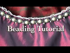 Beading Tutorial - Wrapped Pearls - YouTube