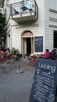Café Liebling Raumerstraße Berlin Außen