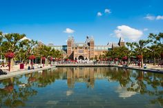 The Rijksmuseum in Amsterdam. Home to the painting of many Dutch masters, including Rembrandt and Vermeer Rembrandt, Museums, Masters, Netherlands, Travel Guide, Amsterdam, Dutch, World, Pictures