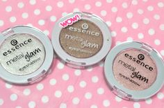 Essence Metal Glam Eyeshadows via @BeautyTidbits