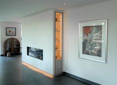 28 nieuwe foto 39 s portfolio on pinterest interieur met and modern - Open haard moderne ...