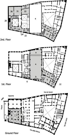 Palazzo massimo alle colonne c utare google history of for Palazzo floor plan