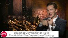 Benedict Cumberbatch Talks THE HOBBIT: THE DESOLATION OF SMAUG with AMC