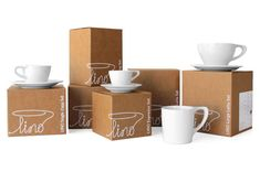 #packaging #design #cup #box #package