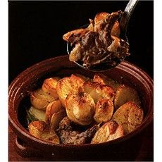 Lancashire Hotpot, have been in the UK for 6 years, first time I heard off. A stew dish of lamb/mutton with onion, topped with potato and baked in oven all day on a low heat