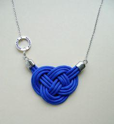 Tangled Cobalt Blue w PINS JEWELRY na DaWanda.com