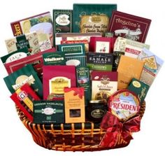 Alder Creek Extravagant Gourmet Food Gift Basket Home Office Friends Relatives #AlderCreekGiftBaskets