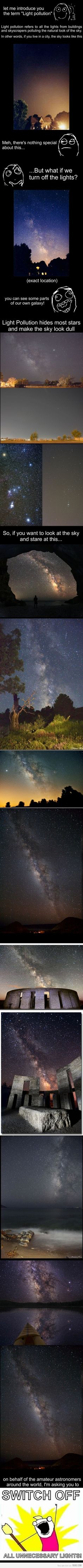 what is light pollution ?!