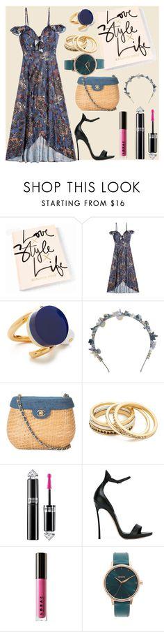 """Love style life"" by gadinarmada-1 ❤ liked on Polyvore featuring Marni, Eugenia Kim, Chanel, Madewell, Guerlain, Casadei, LORAC and Nixon"