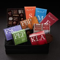 Recchiuti Confections Chocolate Obsession Gift Box - Fine Chocolates, Chocolate Gifts from San Francisco