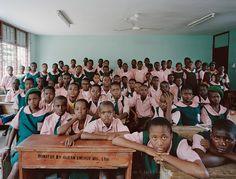 From my blog post — Julian Germain | The Future Is Ours — Classroom Portraits, Kuramo Junior, Maths, Basic, Yr7, Nigeria