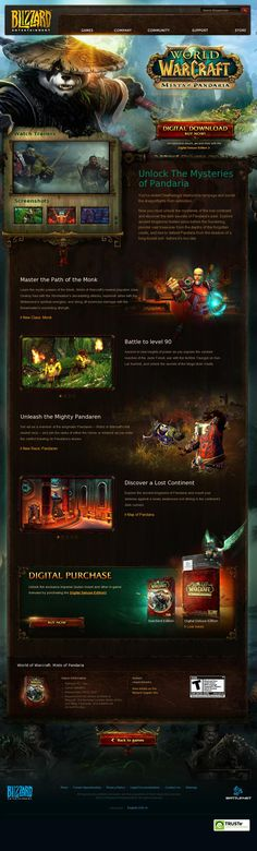 World of Warcraft: Mists of Pandaria  http://us.blizzard.com/en-us/games/mists/